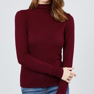 Ça Va De Soi Mock Neck Sweater